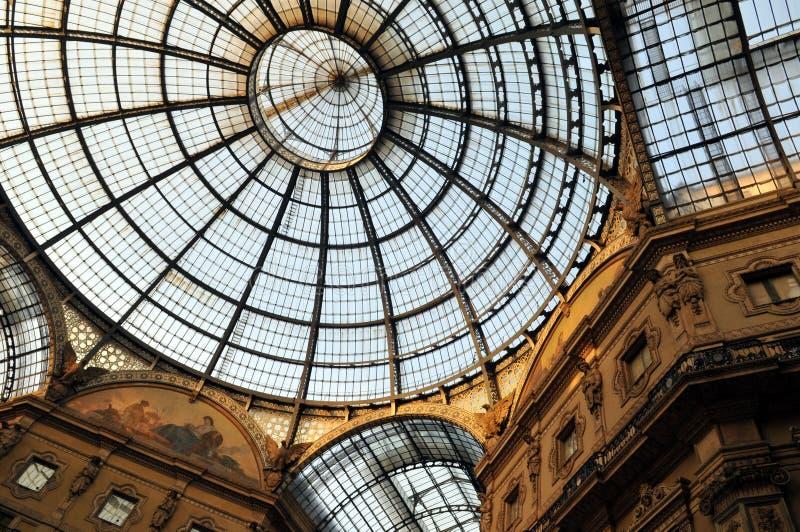 Vincitore Emmanuel della galleria II a Milano fotografia stock libera da diritti