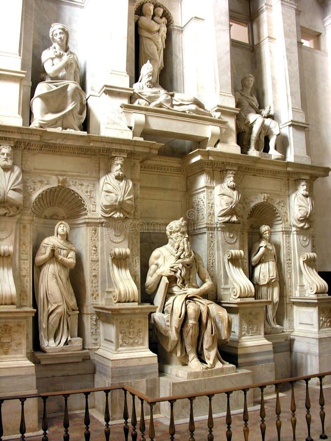 vincoli του Μωυσή Pietro SAN στοκ εικόνα