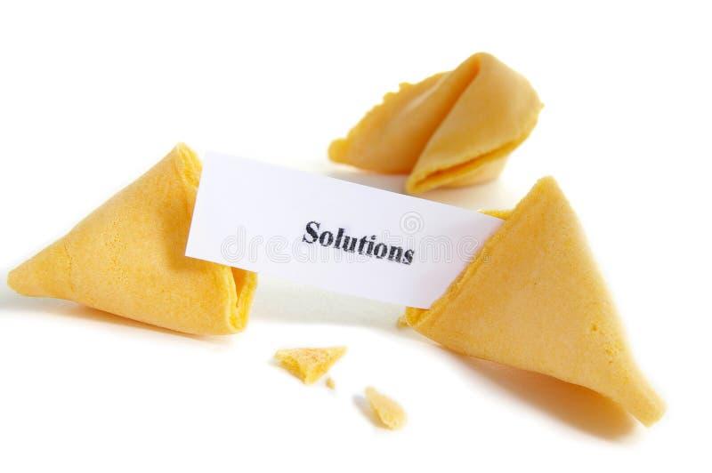 Vind oplossingen stock afbeelding