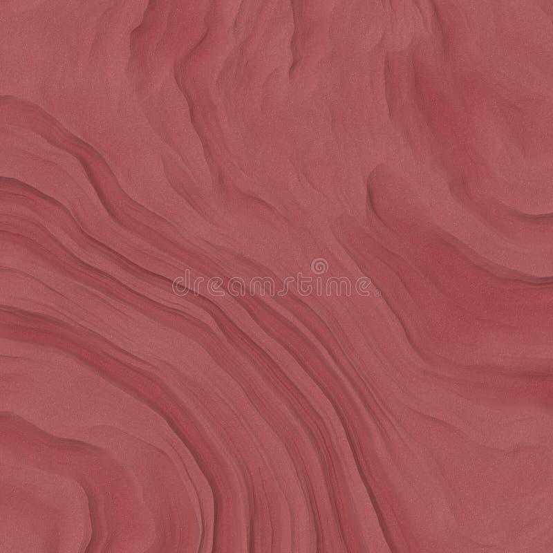 Vind sopad röd sand som bakgrund för designabstrakt begrepptextur royaltyfri foto