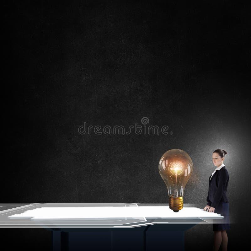 Vind uw idee stock foto's