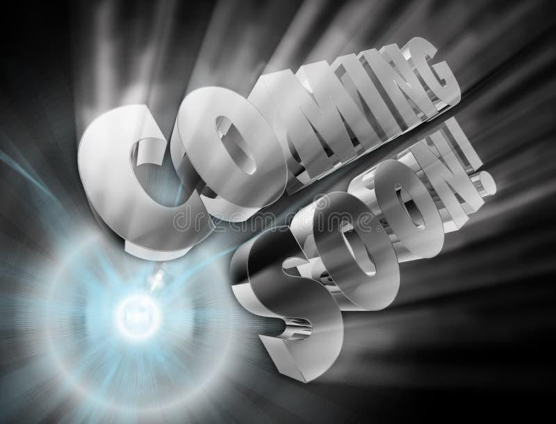 Vinda logo anúncio ilustração royalty free