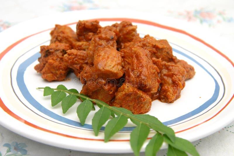 vindaloo kurczaka obraz stock