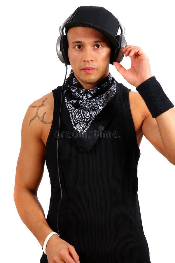 Vindo no DJ imagens de stock royalty free