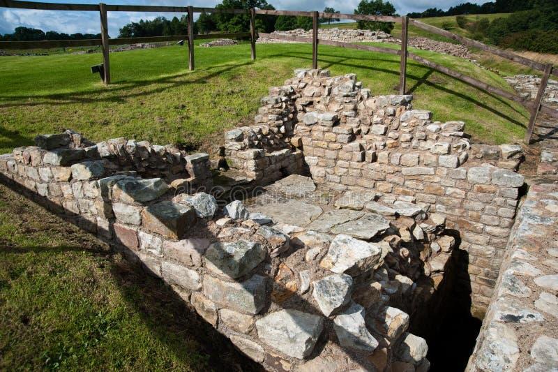 Vindolanda ruins stock photos