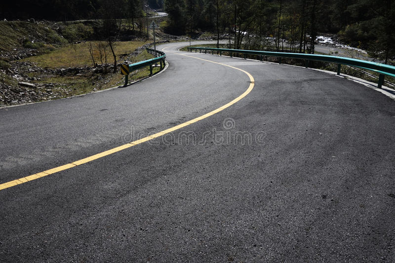 Vindväg royaltyfri bild