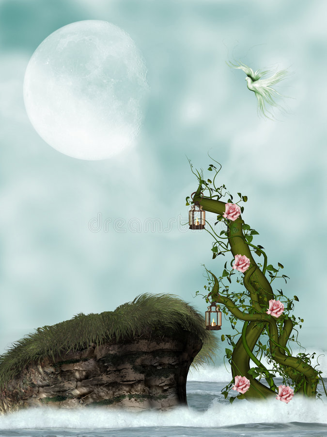 Vine royalty free illustration