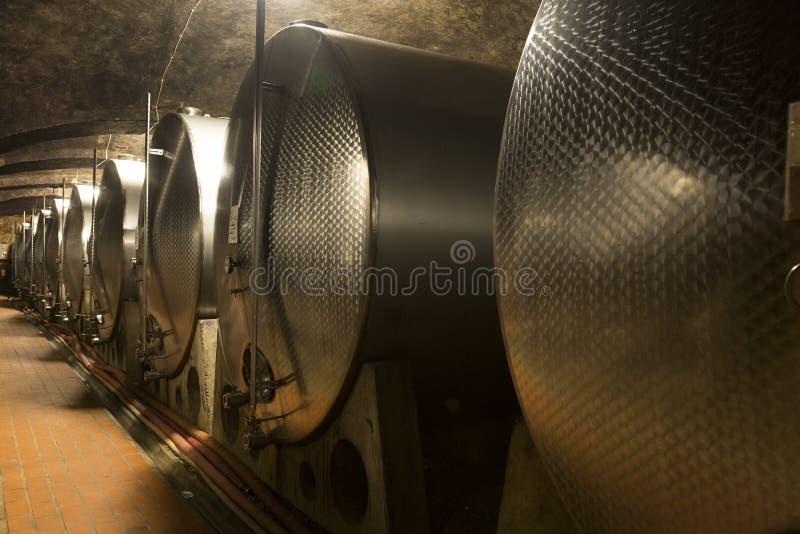 Vine cellar stock photos