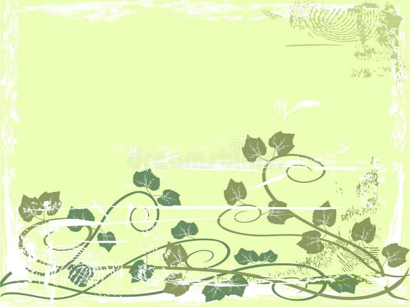 vine för bakgrundsdruvagrunge royaltyfri illustrationer