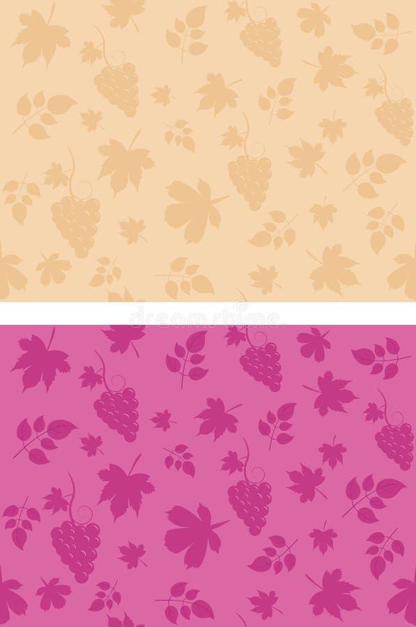 Vine pattern for textile