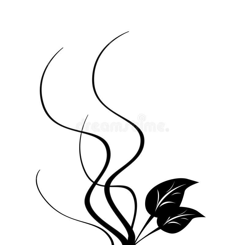 Vine tree royalty free illustration