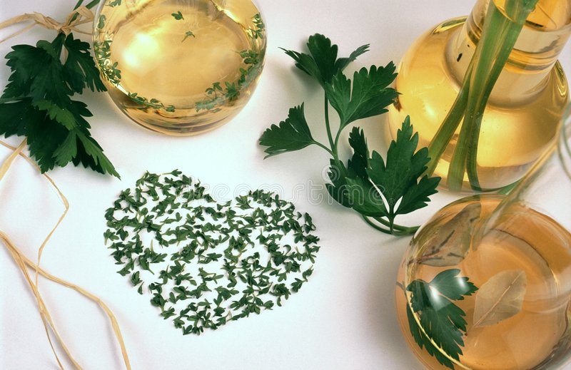 Download Vinegar, Oil And Herbs Stock Photo - Image: 5385820