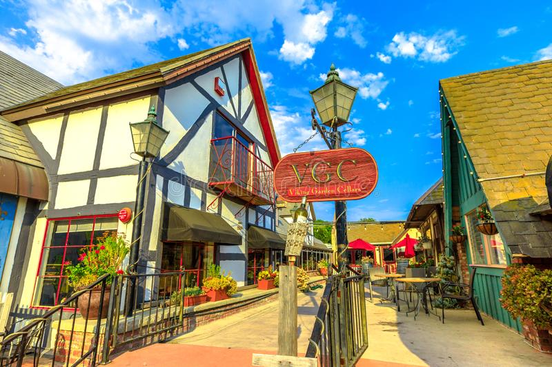 Vinery in Solvang California royalty free stock images