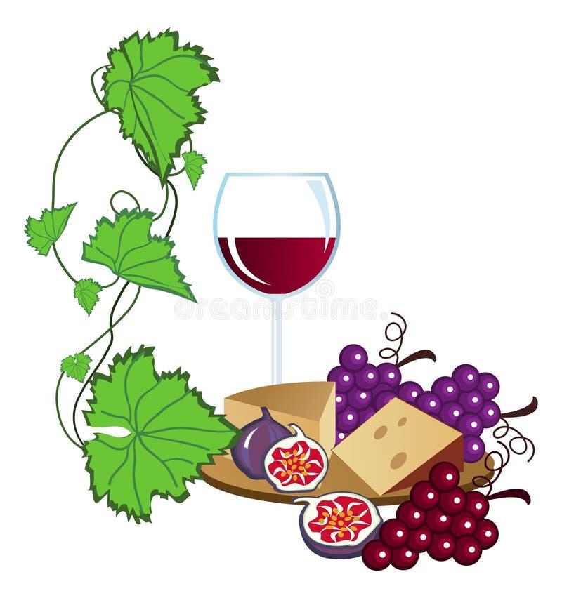 Download Vineyard stock vector. Image of fruit, alcohol, premium - 9756472