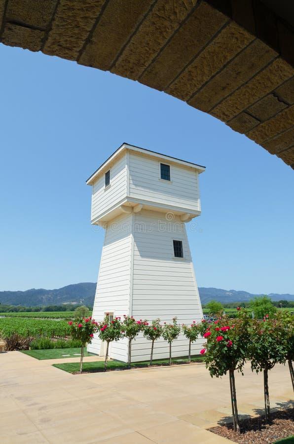 Vineyard Water Tower Royalty Free Stock Images