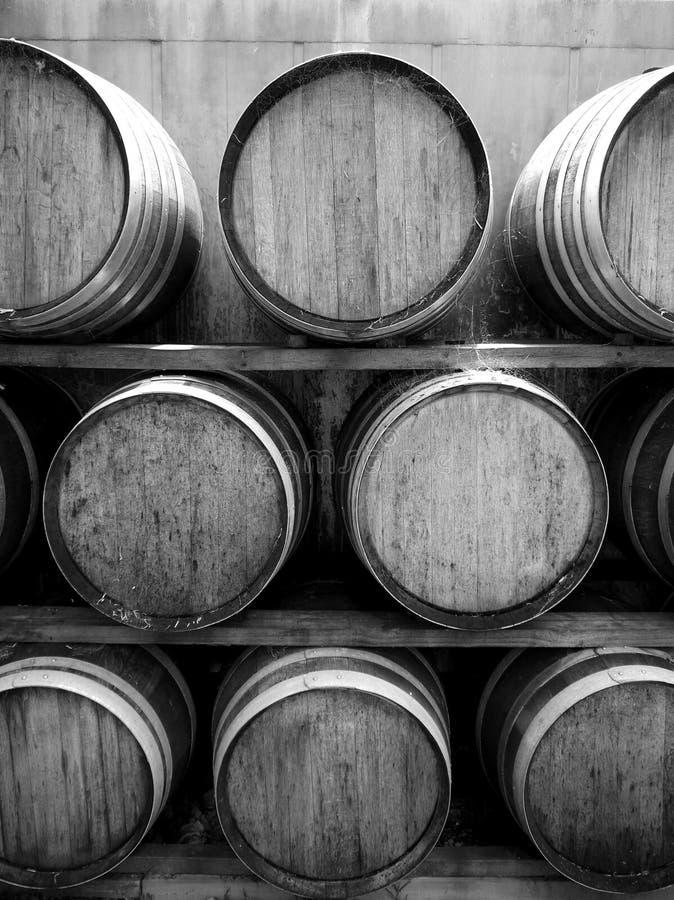 Download Vineyard: wine barrels v stock photo. Image of timber - 22581116