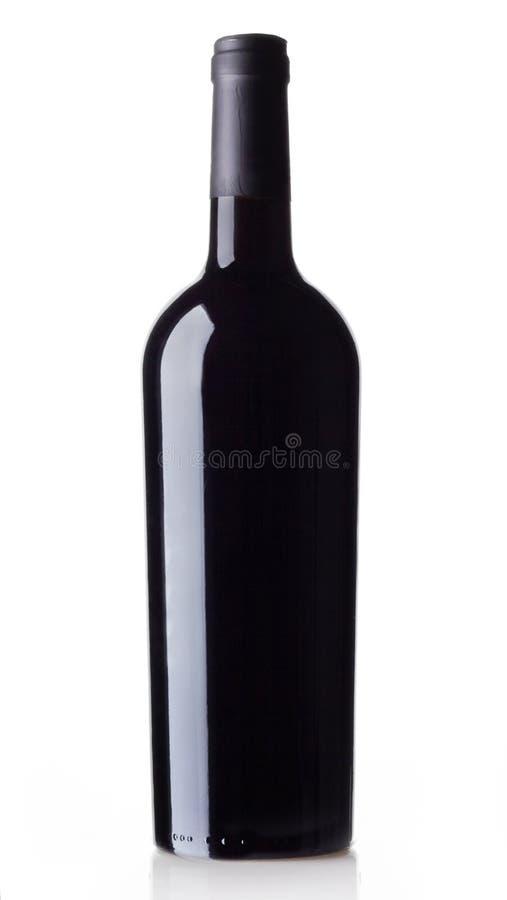 Vinflaska arkivfoto
