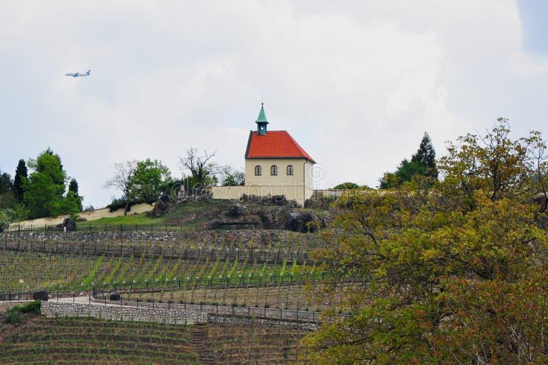 Vingård Troja, Prague, Tjeckien för St Claire's fotografering för bildbyråer
