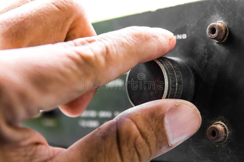 Vingers het draaien stock foto