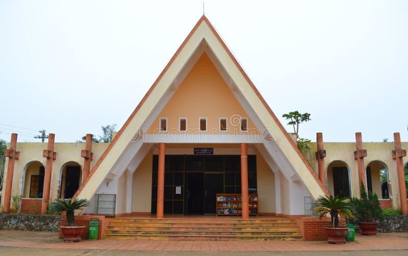 Vinh Moc tunel zdjęcie royalty free