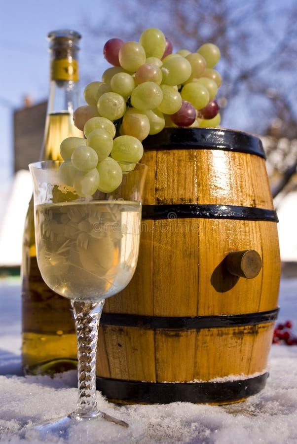 Download Vinho foto de stock. Imagem de vinho, céu, neve, árvore - 12812248