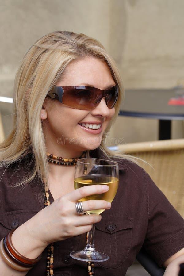 Vinho bebendo foto de stock royalty free