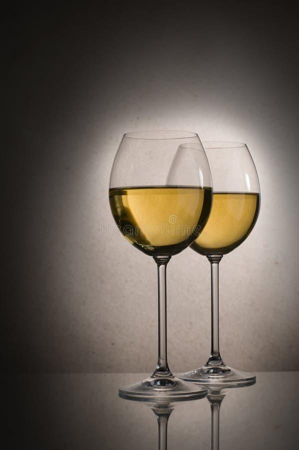 Vinho branco foto de stock royalty free