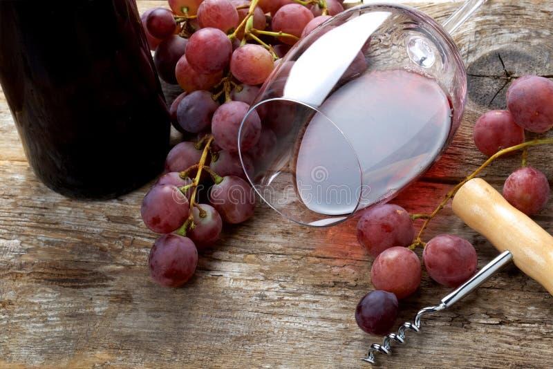Vinho com tambor imagem de stock