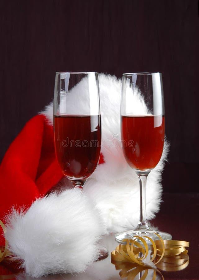 Vinho do Natal fotos de stock royalty free
