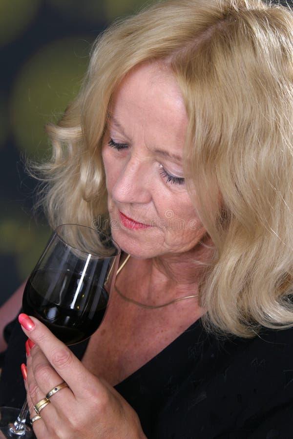 Vinho-gosto fotografia de stock royalty free