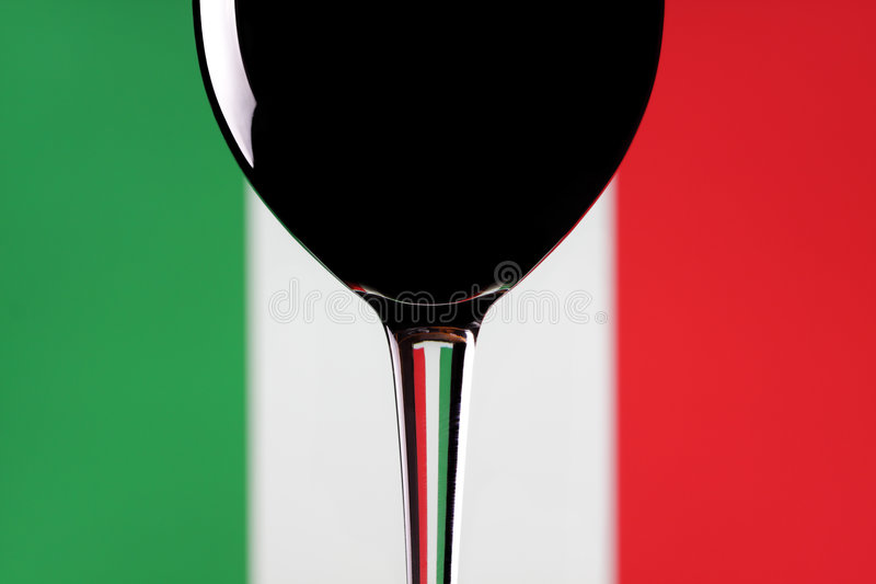Vinho italiano. fotos de stock