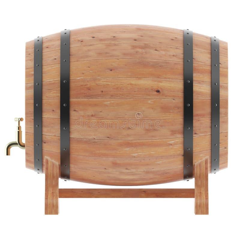Vinho, uísque, rum, cerveja, tambor ilustração royalty free