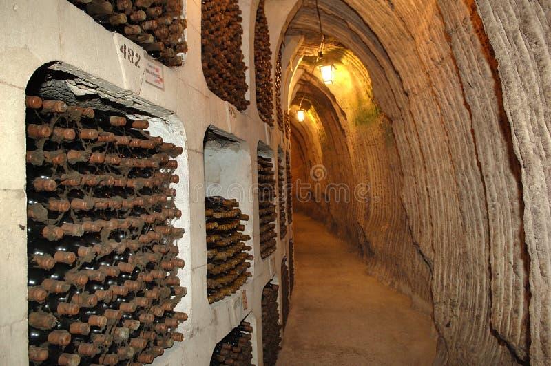 Vinho vault-001 imagem de stock royalty free