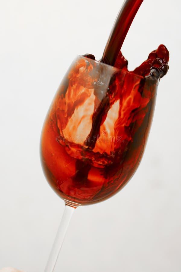 Download Vinho vermelho foto de stock. Imagem de chapinhe, respingo - 12806896