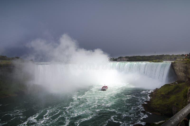 Vini, Vidi, Vici - Niagara!!! imagens de stock