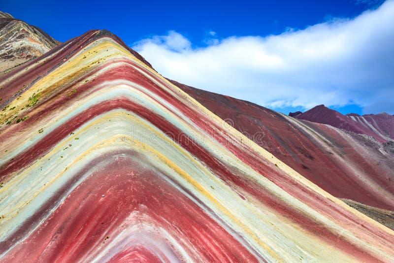 Vinicunca, Rainbow Mountain - Peru stock image