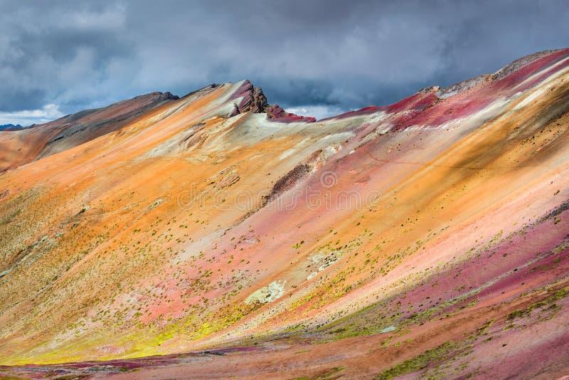 Vinicunca, Rainbow Mountain - Peru stock photo