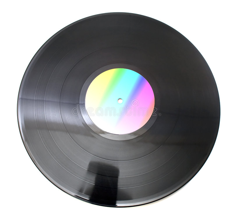 Vinil disc for club party. Vinil disc for great club party stock images