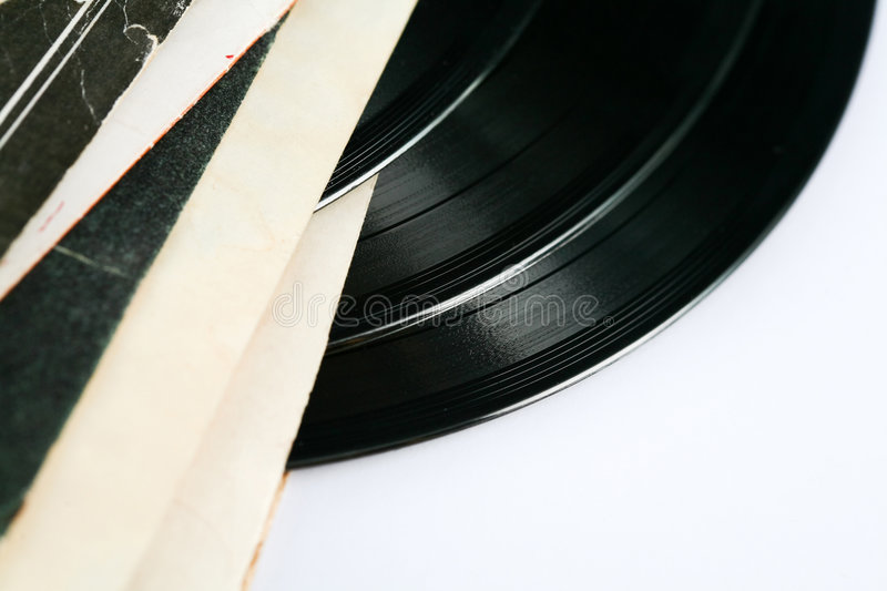 Vinil discs. Stock photo: an image of vinil discs royalty free stock image