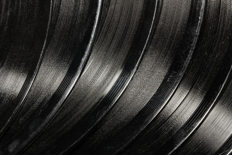 Vinil texture. Vinil disk grooved texture closeup royalty free stock photos