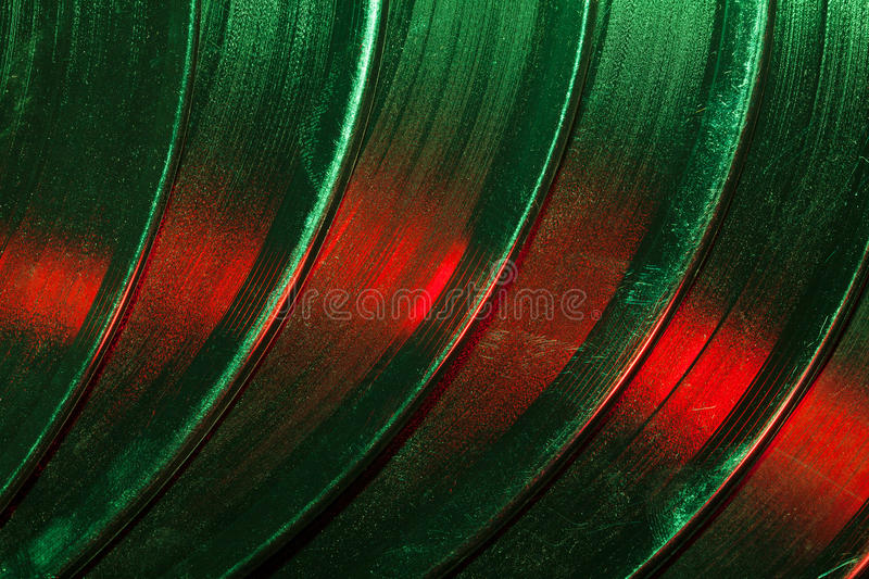 Vinil texture. Vinil disk grooved texture colorful royalty free stock photos
