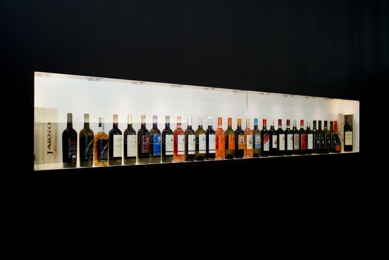 Vinitaly: Exposição internacional do vinho fotos de stock
