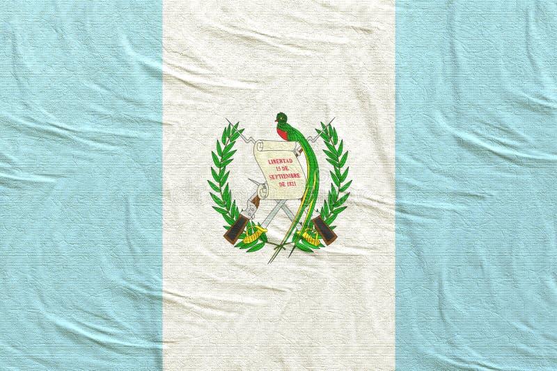 Vinka för Guatemala flagga royaltyfria foton