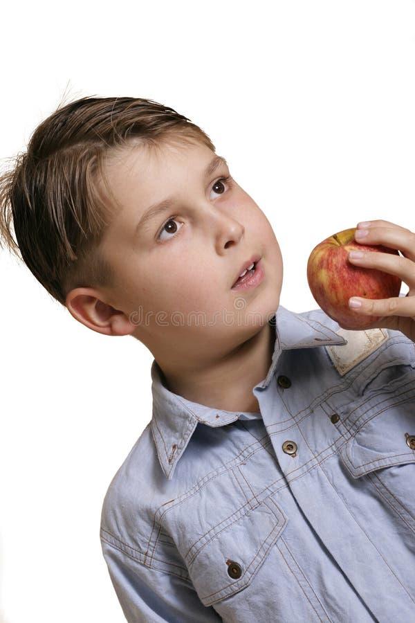Download Vinkelpojke arkivfoto. Bild av frukter, barn, frukt, hälsa - 43406
