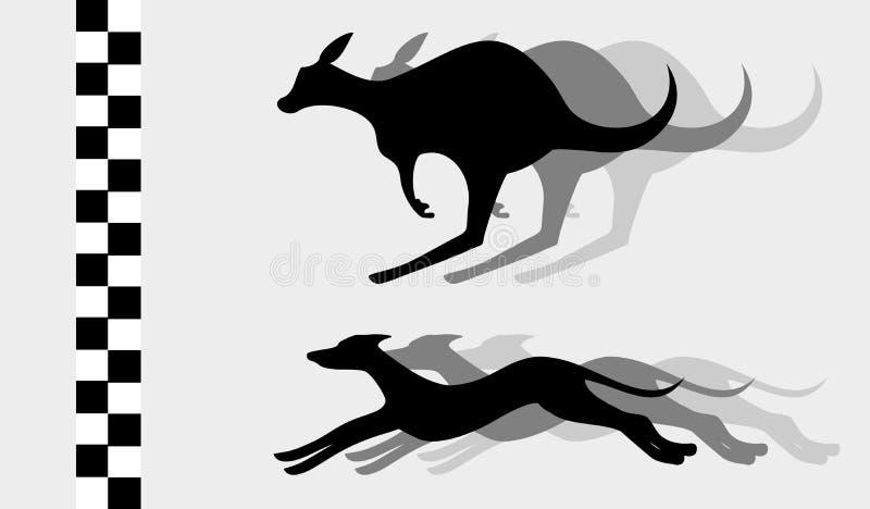 Vinnaredjur stock illustrationer