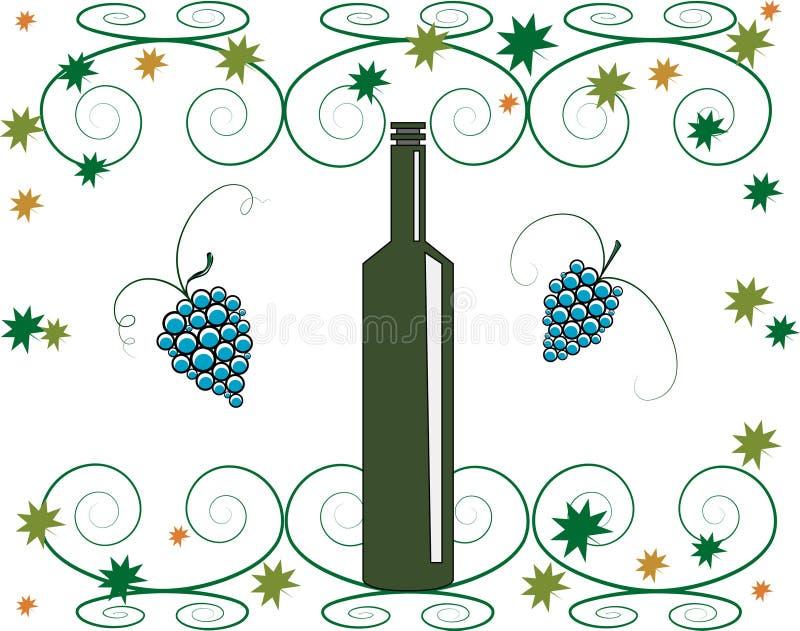 vino διανυσματική απεικόνιση