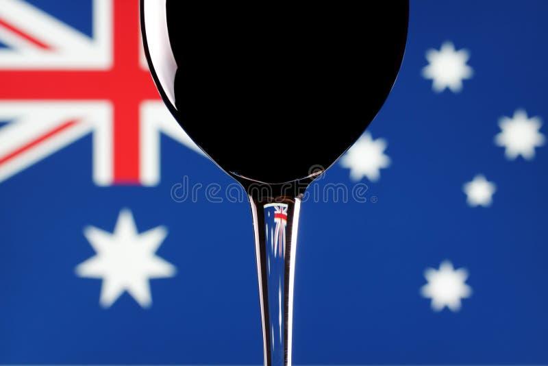 Download Vino australiano. immagine stock. Immagine di ancora, rosso - 7316489