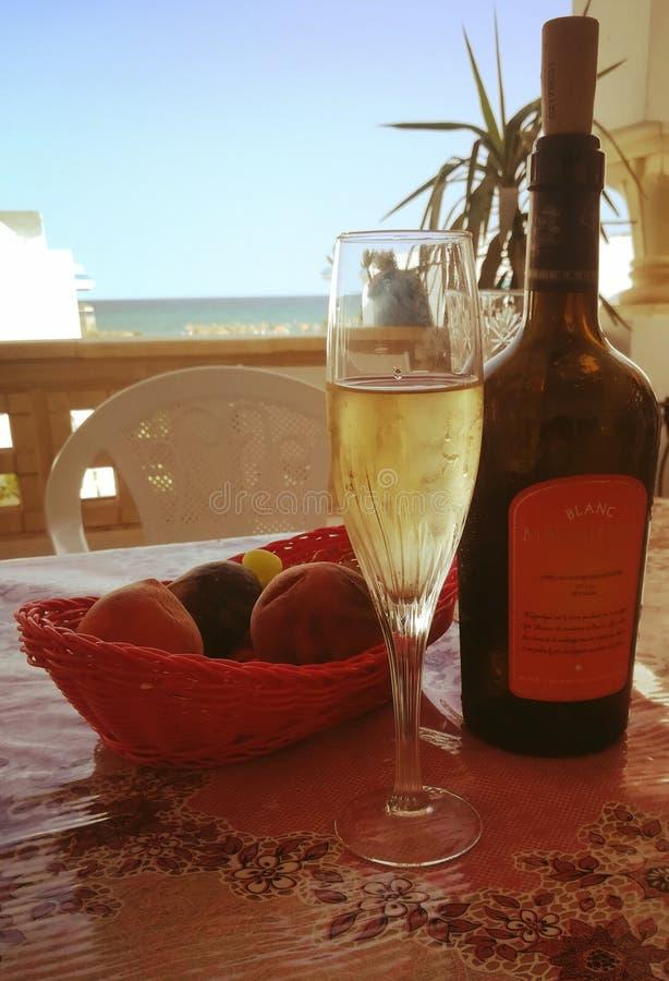 Vino Bianco zdjęcie stock