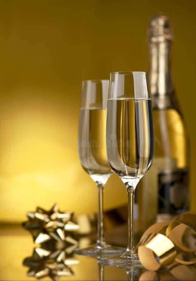 Vino. Champagne immagini stock