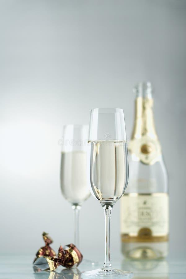Vino. Champagne immagine stock